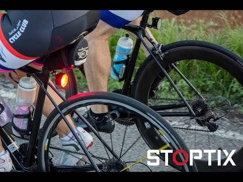Stoptix Bicycle Brake Light introduction and demonstration