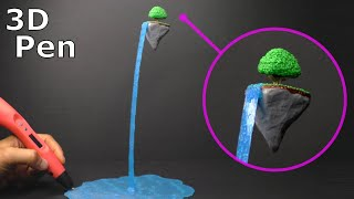 Floating Island with a 3D Pen