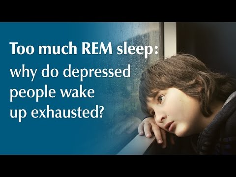 Why Depressed People Wake Up Exhausted