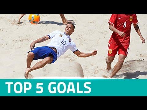 TOP 5 GOALS - BSWW MUNDIALITO CASCAIS 2016