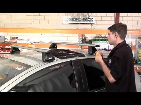 Rhino Rack Aero Roof Racks video how to installation