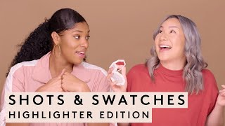 SHOTS & SWATCHES: HIGHLIGHTER EDITION | FENTY BEAUTY