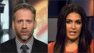 Molly Qerim Gets EMBARRASSED By Max Kellerman Live On First Take