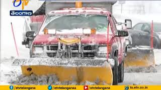 Snow Tapers off | But Northeast Still Dealing With Cold, Icy Streets | US