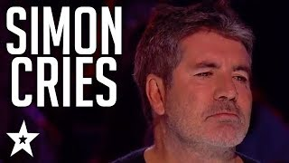 When SIMON COWELL Cries On Britain and America's Got Talent! | Got Talent