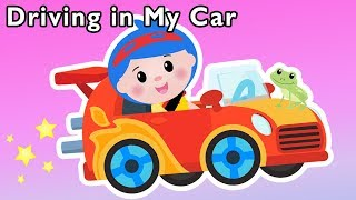 Driving in My Car and More | FUN CAR RHYMES | Baby Songs from Mother Goose Club!