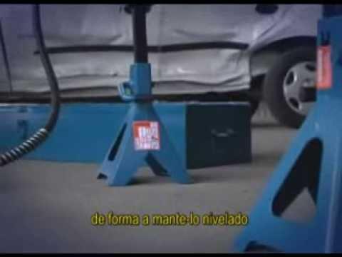 Cavalete Mecânico com Cremalheira 6 Toneladas Ct6000 Bovenau - Par - Vídeo explicativo