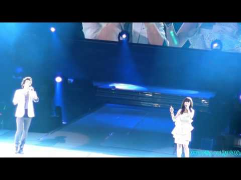 2011.08.20 SHINee World Concert in Nanjing - Zhang Li Yin - Wrongly Given Love feat. Jonghyun Fancam