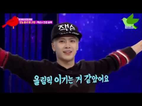 [ENG SUB] GOT7 Jackson Shows Off His Mad Athleticism