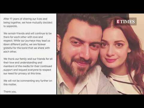 Dia Mirza announces SEPARATION with husband Sahil Sangha