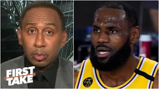 Stephen A. reacts to the Lakers losing to the Raptors   First Take