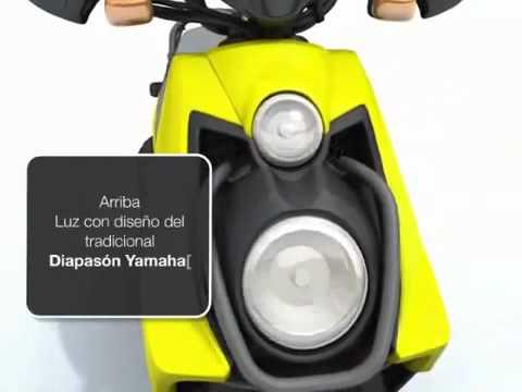 Yamaha BWS 125, Video Técnico