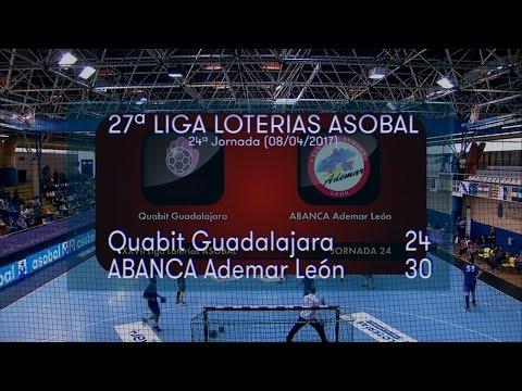 Reale Ademar Leon vs Quabit BM Guadalajara