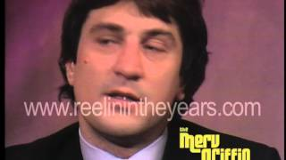 "Robert DeNiro- Interview ""Raging Bull"" (Merv Griffin Show 1981)"