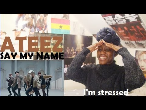 ATEEZ (에이티즈) - HALA HALA + SAY MY NAME MV REACTION [WOOYOUNG NEEDS TO CHILL!]
