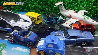 Car Toys Playing For Children Planes Super Cars, Classic Cars, Pickup Trucks