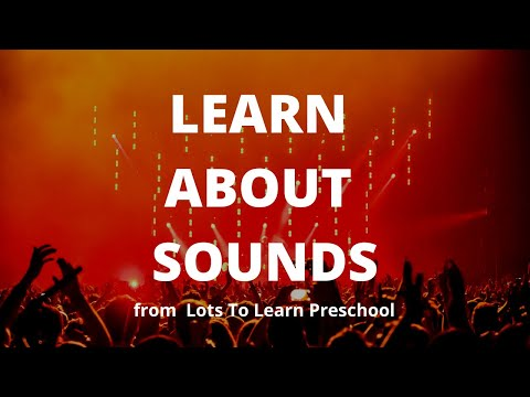 Teach Toddlers The Sound Game | Lots To Learn Preschool Learning