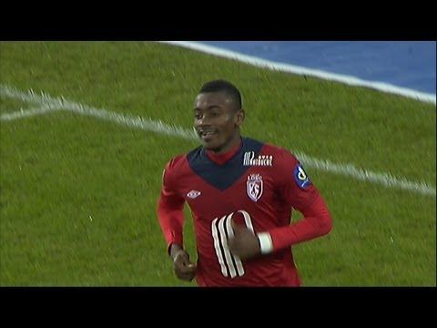 But Salomon KALOU (33') - LOSC Lille - FC Lorient (5-0