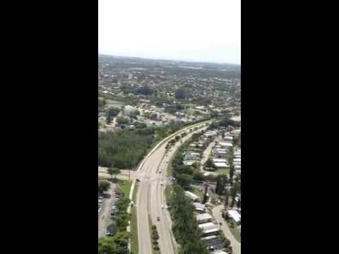 Helicopter flight over Miami #1