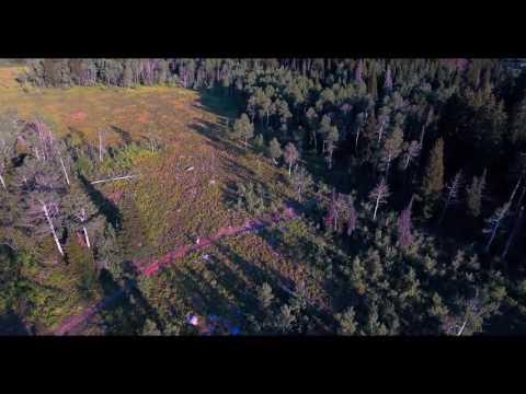 Brim Trail at Powder Mountain drone