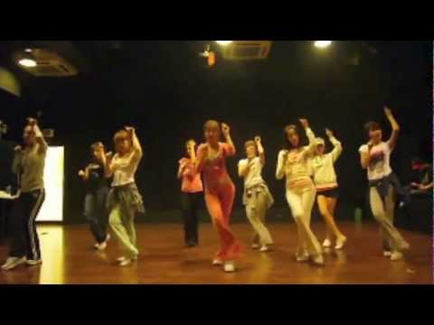 SNSD [Chocolate Love] Dance sm practice room Sep 28, 2009 GIRLS' GENERATION