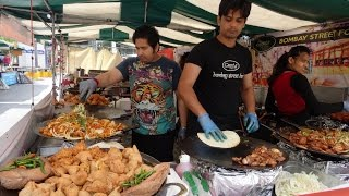"Indian Street Food in London Compilation: ""Street Food Royalty"" at Alchemy may make you feel hungry."