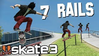 Skate 3: CRAZY RAIL TRICK!? | Epic Challenges!