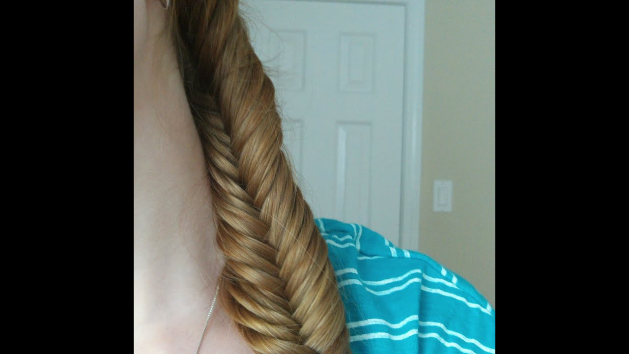 How to - Fishtail Braid - YouTube