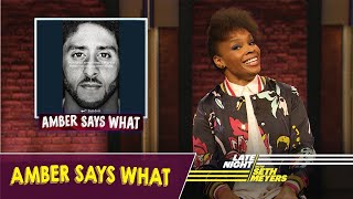 Amber Says What: Nike's Colin Kaepernick Ad, Aretha Franklin's Funeral