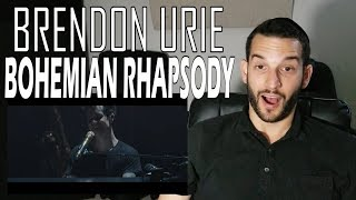 VOCAL COACH reacts to BRENDON URIE singing BOHEMIAN RHAPSODY LIVE!