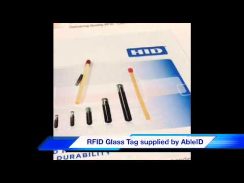 RFID Glass Tag