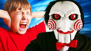Jigsaw Stalker TROLLING on GTA 5! #3