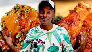 How To Make 2 Styles Of Fried Chicken By Marcus Samuelsson •Tasty
