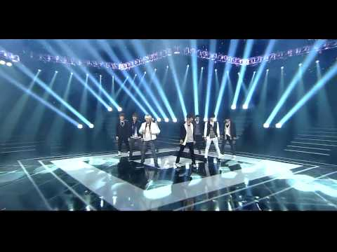 [110911] HD | Super Junior - Good Person(KRY) + Superman + Mr Simple [Inkigayo Goodbye Stage]