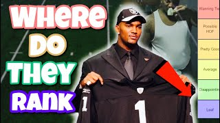 Ranking every #1 overall pick from the 2000's