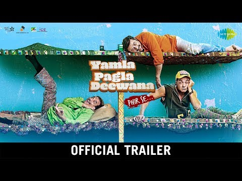 Yamla Pagla Deewana Phir Se - Trailer - Dharmendra - Sunny Deol - Bobby Deol - Navaniat Singh