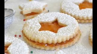 Christmas Sandwich Cookies by Cooking with Manuela