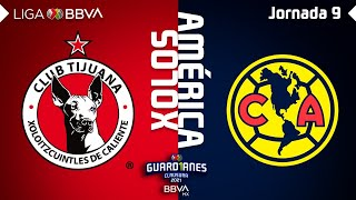 Resumen y Goles | Xolos vs América | Liga BBVA MX - Guard1anes 2021 - Jornada 9