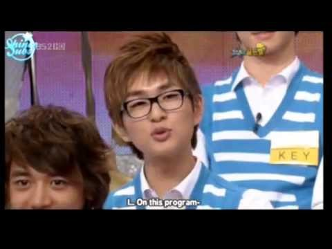 [eng] Smart Onew with glasses @ Star Golden Bell Ep. 258