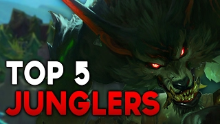 NEW TOP 5 BEST JUNGLERS in Patch 7.3 TO CLIMB WITH (League of Legends)