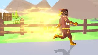 I became Flash in Dude Theft Wars