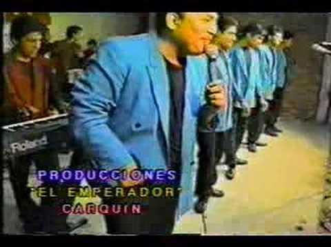 Grupo Lluvia - Me emborracho por tu amor (Lucho Lopez)