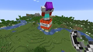 Abusing God Powers On My Minecraft Server