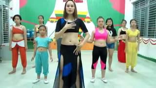 Dạy cơ bản belly dance thanh phuong go vap
