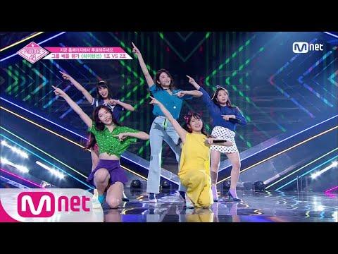 [ENG sub] PRODUCE48 [4회] ′파워 끝판왕′ 텐션업걸즈ㅣAKB48 ♬하이텐션_2조 @그룹 배틀 180706 EP.4