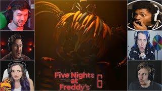 Gamers Reactions to 3... 2...1... (Scrap Baby)   Fazbear's Pizzeria Simulator (FNAF 6)