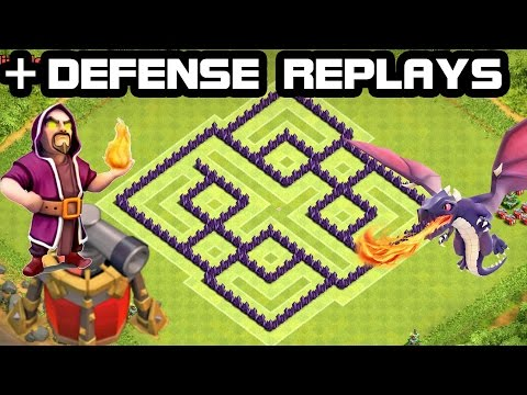 Clash Of Clans Best Th7 Town Hall 7 Farming Base Unlimited