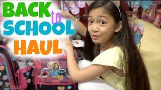 BACK to SCHOOL HAUL