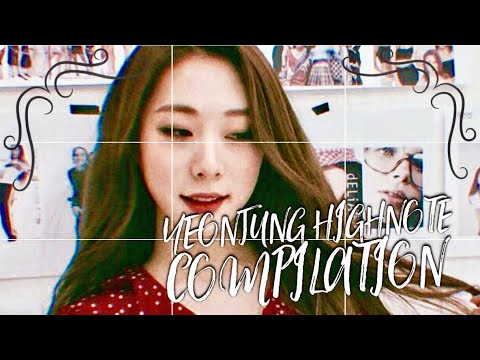 WJSN's Yeonjung's High note Compilation