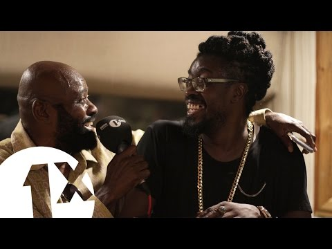 1Xtra in Jamaica - Beenie Man, Lt Stitchie & Josey Wales at King Jammy's studio Jamaica
